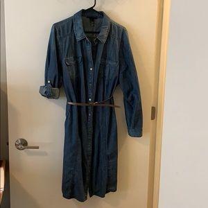 Lane Bryant Denim Dress Size 22/24